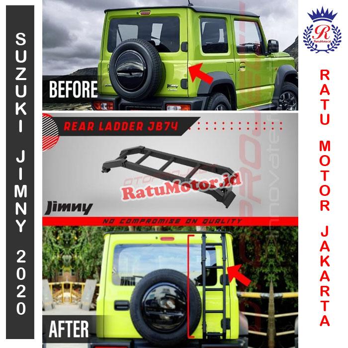 Tangga Sisi Belakang Suzuki JIMNY 2019 - Rear Ladder JB74