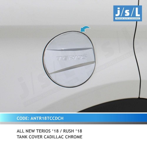 Tank Cover All New TERIOS 2018-2019 Model Cadillac Chrome