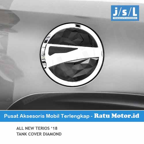 Tank Cover All New TERIOS 2018-2019 Model Diamond Blacktivo