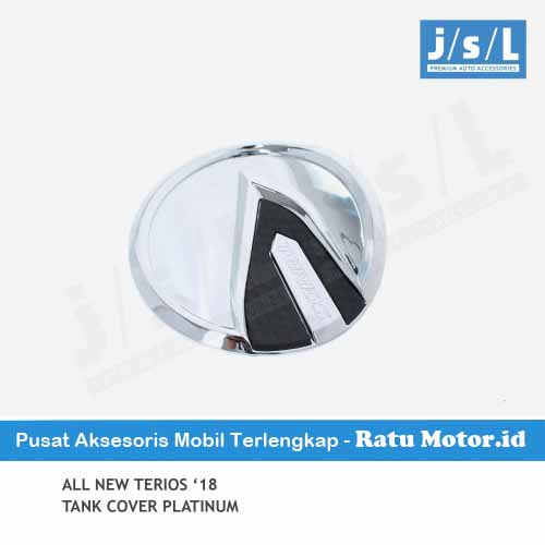 Tank Cover All New TERIOS 2018-2019 Model Platinum Chrome