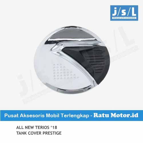 Tank Cover All New TERIOS 2018-2019 Model Prestige Chrome