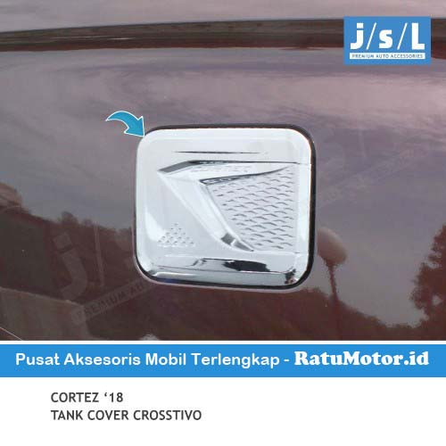 Tank Cover Wuling CORTEZ 2018 - 2020 Model Crosstivo Chrome