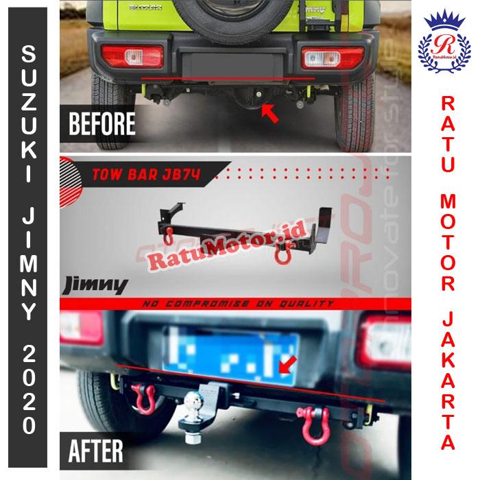 Towing Bar khusus Suzuki JIMNY 2019 - Towing Belakang JB74