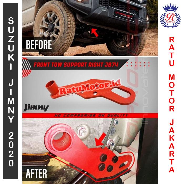 Towing Depan Kanan Suzuki JIMNY 2019 - Front Tow Support Right JB74